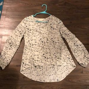 Eight sixty snake print blouse